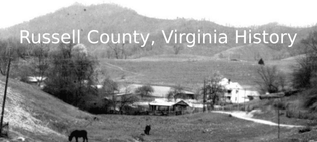 Farm view in Russell County, ca. 1954