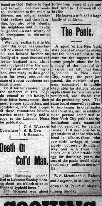 newspaper articles - russell county  virginia history